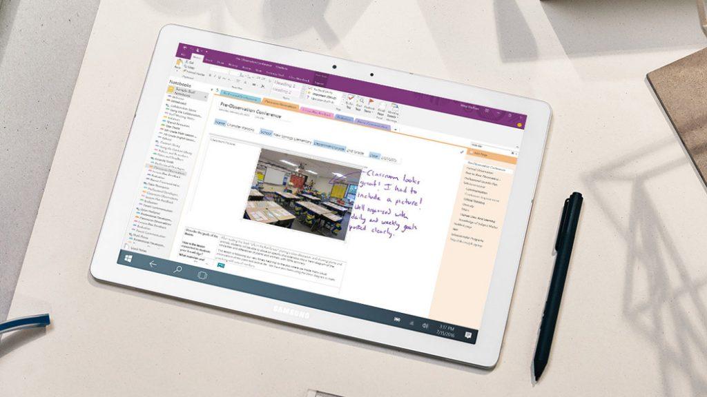 Microsoft 365 OneNote Educación