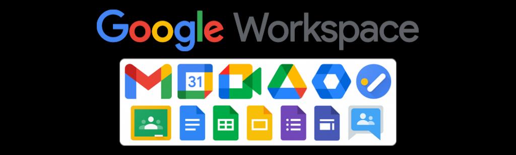 Aplicaciones Google Workspace for Education
